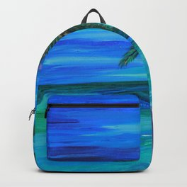 Gold-Flecked Palms Backpack