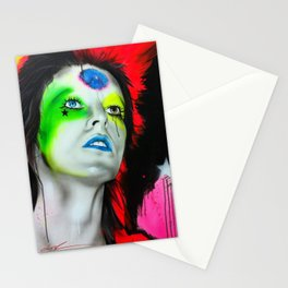 'Ziggy Played Guitar' Stationery Cards