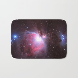 Great Nebula in Orion Bath Mat
