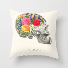 Politeness is the flower of humanity Throw Pillow