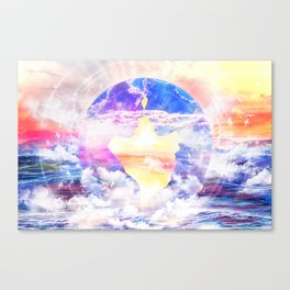 Artistic - XXII - Love and Happiness Canvas Print