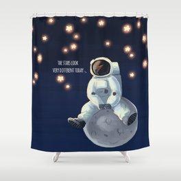 Major Tom Shower Curtain