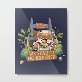 No expense Blathers Animal Crossing Metal Print