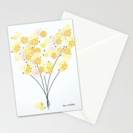Spring Daisy Bouquet Stationery Cards