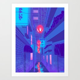 Shibuya Nights Art Print