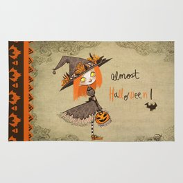 Almost Halloween!!!! Rug