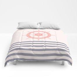 AFE Pink Nautical Helm Wheel  Comforters