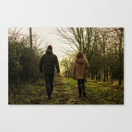 walking away Canvas Print