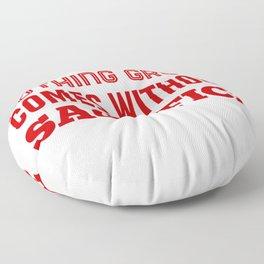 Be Ready To Sacrifice Floor Pillow