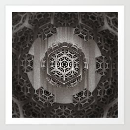 Cog Of The Machine Art Print