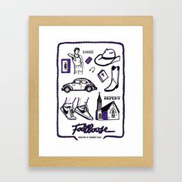 Footloose Framed Art Print