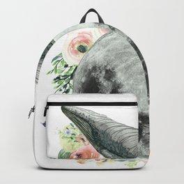 Moon Whale Backpack