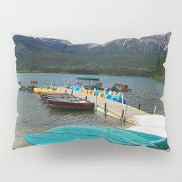 Canoes At Pyramid Lake Pillow Sham