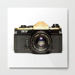 Canon Camera EF Style Metal Print