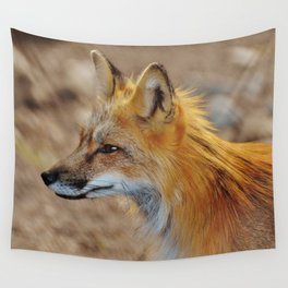 Inquisitive Mr. Fox Wall Tapestry
