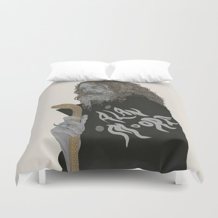 Alan Moore Duvet Cover