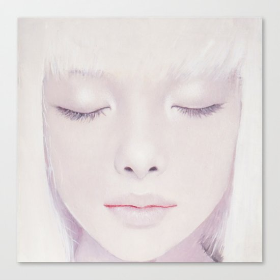 Face17 Canvas Print