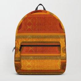 """""""Ethnic Pattern Warm Tones II"""" Backpack"""