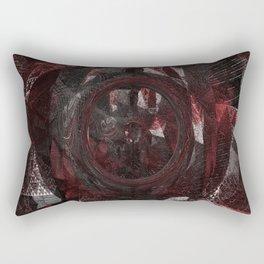 Geometry Angst Rectangular Pillow