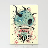 et Stationery Cards featuring ET Explorer by Emile Kumfa