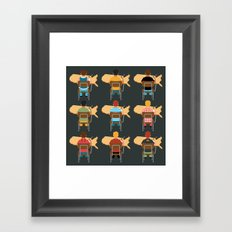 Common Core Framed Art Print