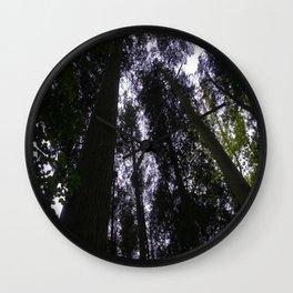 Pine Barrens Wall Clock
