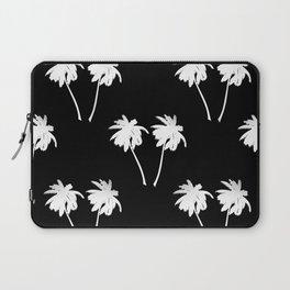 Palm Trees Tropical Night Laptop Sleeve