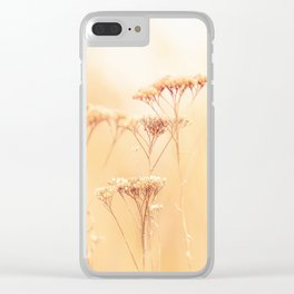 Golden Autumn Clear iPhone Case