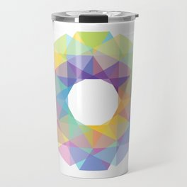 Fig. 036 Colorful Circle Travel Mug