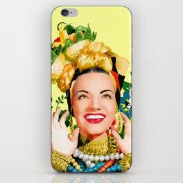 CARMEN MIRANDA iPhone Skin