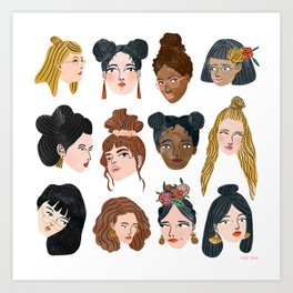 Women's Day 2017 Art Print