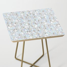 Holographic Mermaid Side Table