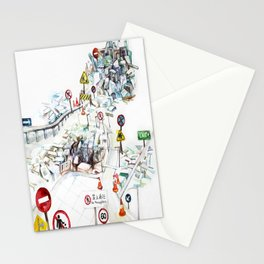 Artificial City Stationery Cards