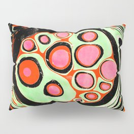 Psychedelic Circle Pillow Sham