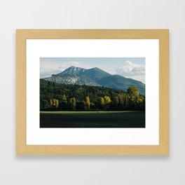 Moustiers-Sainte-Marie Framed Art Print