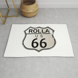 Rolla Route 66 Rug