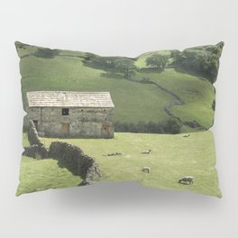 Walls and Barns Pillow Sham