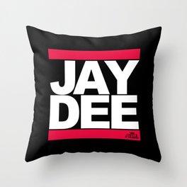 JAY DEE aka JDILLA (RUNDMC tribute) Throw Pillow