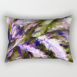 Pampas Grass 1f by Kathy Morton Stanion Rectangular Pillow
