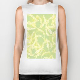 Pattern with Cereal Biker Tank