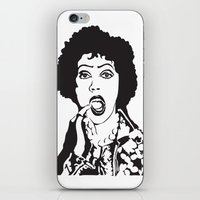 rocky horror iPhone & iPod Skins featuring Rocky Horror by Colesart