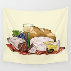 Perfect Picnic Wall Tapestry
