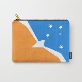 Flag of Tierra del Fuego Carry-All Pouch