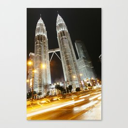 Kulala Lumpur Petronas twin towers. Canvas Print