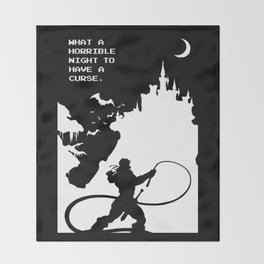 Castlevania Throw Blanket