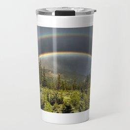 Double Rainbow in Jasper Travel Mug