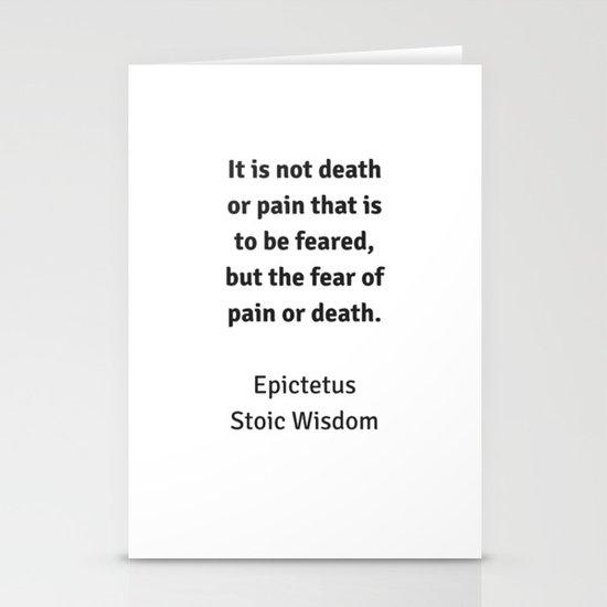 Stoic Wisdom - Philosophy Quotes - Epictetus - It is not ...