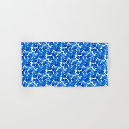 Forget-me-not Flowers White Background #decor #society6 #buyart Hand & Bath Towel