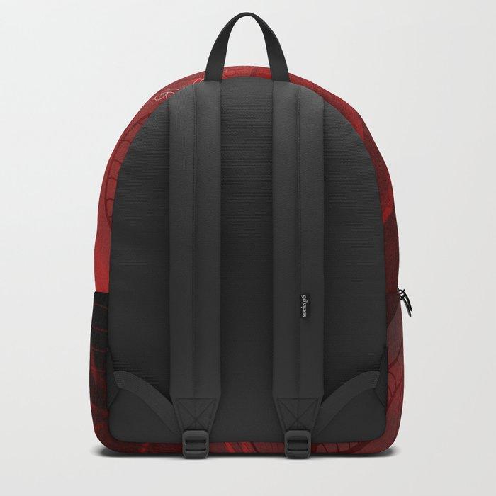 Cute owl, mandala design Backpack