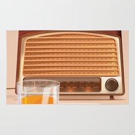 Radio & Whiskey Rug